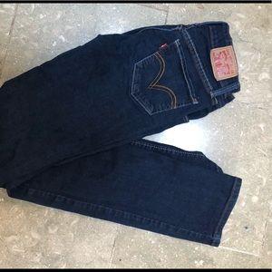 Levi's 518 straight denim jeans